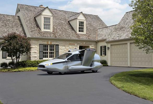 flying car, real flying car, car that flys