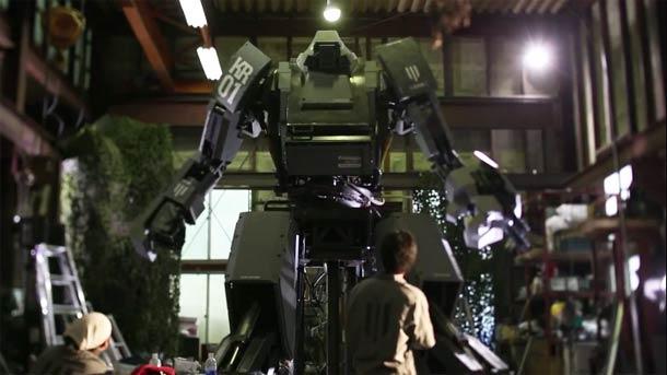 Kuratas Japanese giant robot 5 Kuratas – A Japanese giant robot controlled by iPhone