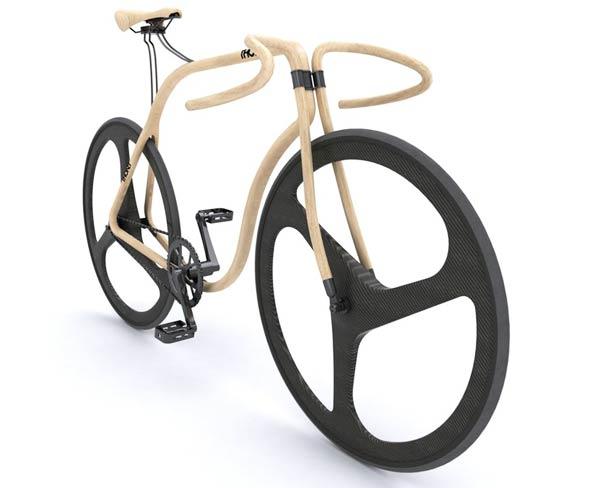 Thonet wooden fixie bike 2 Thonet Bike – An amazing wooden fixie bike