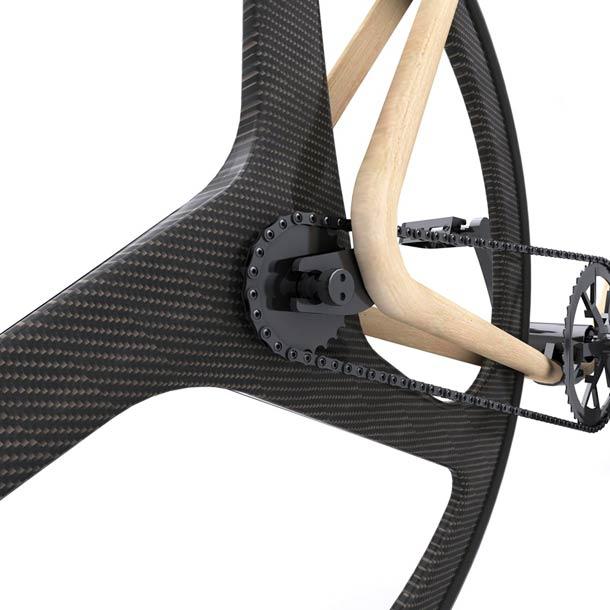 Thonet wooden fixie bike 4 Thonet Bike – An amazing wooden fixie bike