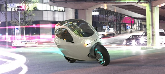Lit Motors Unveils All Electric Fully Enclosed Motorcycle